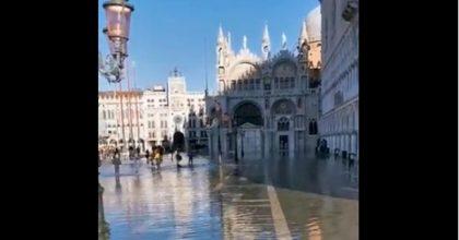 piazza san marco allagata twitter