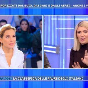 """Pomeriggio 5, Veronica Satti e le fobie: """"Lenticchie e buchi mi causano attacchi di panico"""""""