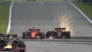Vettel-Leclerc incidente in Brasile VIDEO: di chi è la colpa? La Ferrari (umiliata) pronta a punirli