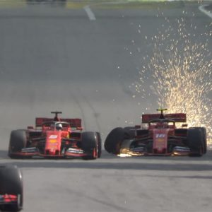 Vettel-Leclerc incidente in Brasile VIDEO: di chi è la colpa? La Ferrari (umiliata) pronta a punirli