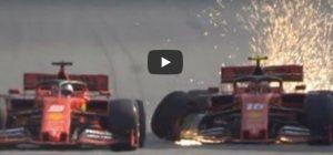 Vettel Leclerc si buttano fuori a vicenda in Brasile video YouTube formula 1