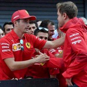 Vettel Leclerc Brasile lite nelle dichiarazioni
