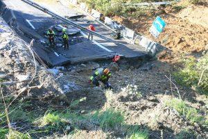 Viadotto A6 crollato, causa impatto frana-piloni. Nuovo ponte tra 3-4 mesi