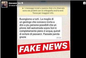 Viadotto Sori a rischio crollo, la fake news smentita da Giovanni Toti