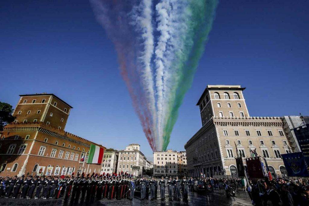 4 novembre frecce tricolori roma