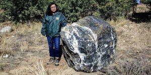 Wizard rock rubata e restituita al Prescott National Forest