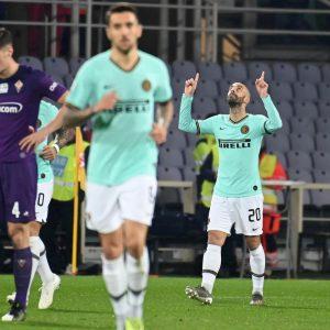 Fiorentina-Inter 0-1, l'ex Borja Valero ha sbloccato la partita