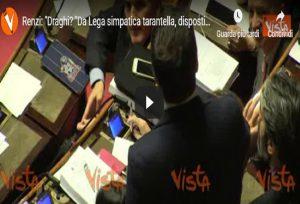 Matteo Renzi, agenzia Vista