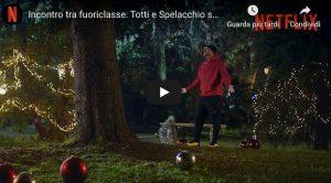 Totti incontra Spelacchio, lo spot di Netflix è esilarante VIDEO YouTube