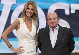 Adriana Volpe torna ad attaccare Giancarlo Magalli (e la Rai) anche dalla tv svizzera