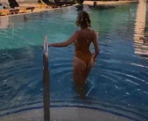 alessia marcuzzi piscina dubai