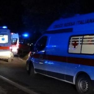 Ambulanza, foto Ansa