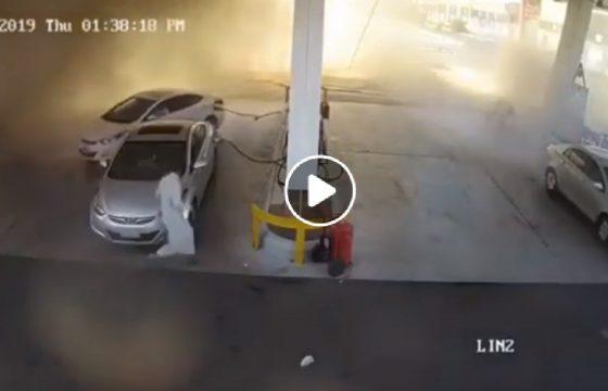 arabia saudita esplosione benzina