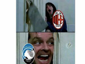Atalanta-Milan 5-0, quanti sfottò sui social network