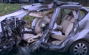 auto distrutta bortiolo