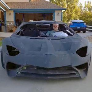 Lamborghini. Papà e figlio stampano in 3D e assemblano una Aventador. Il premio è...