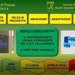 Catania Banca Base: crack finanziario e arresti al vertice. Banche: in Italia piccolo non è bello