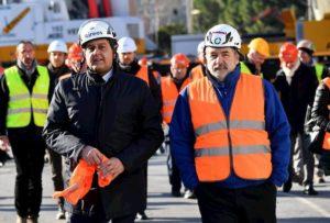 """Ponte Morandi, Marco Bucci: """"Le prime auto forse già a metà maggio"""""""