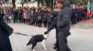 Castel di Sangro, carabiniere morto sulla Majella: al funerale anche il suo inseparabile cane
