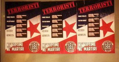 Trieste, manifesti di CasaPound contro gli antifascisti fucilati