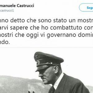 Emanuele Castrucci. Il prof pro Hitler: per il Gip non ha fatto niente, per l'università non merita di vedere gli studenti