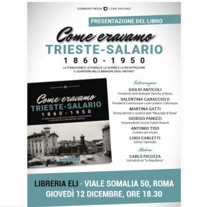 Come eravamo Trieste-Salario 1860-1950