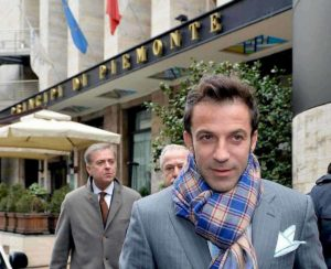 Del Piero, show a Madrid: gol a giro e dribbling ubriacanti
