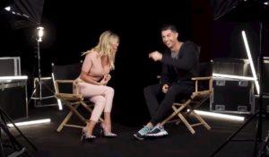 """Diletta Leotta intervista Cristiano Ronaldo, il """"siuuu"""" della conduttrice fa ridere il portoghese VIDEO"""