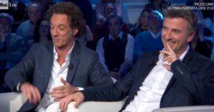 """Domenica In, Mara Venier e la gaffe in diretta con Ficarra e Picone: """"Ecco a voi Ficarra e Ficone"""""""
