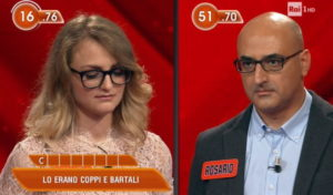 L'Eredità e la gaffe della concorrente: Coppi e Bartali sono comici