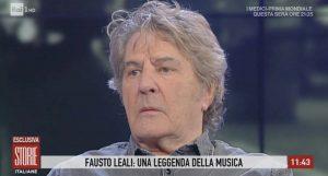 """Storie Italiane, Fausto Leali: """"Non andrò al Festival di Sanremo"""""""