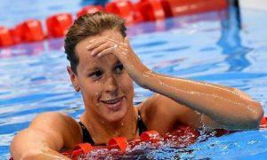 Federica Pellegrini in finale nei 100 stile libero agli Europei di nuoto di Glasgow