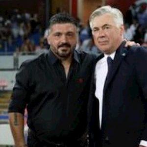 """Napoli, Gattuso: """"Ancelotti come un padre, vorrei vincere 10% suoi trofei"""". Arriva la battuta di De Laurentiis..."""
