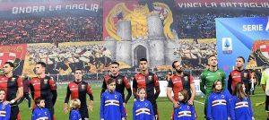 Genoa-Sampdoria, striscioni e coreografie del derby FOTO