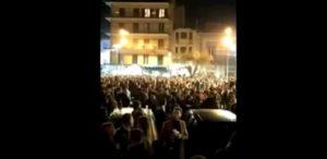 giugliano rissa in piazza