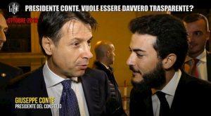 """Le Iene: """"Conte ha mentito su concorso e rapporti con Alpa?"""". Lui: """"Storia vecchia"""""""