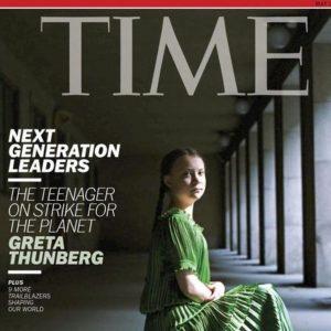 Greta Thunberg Persona dell'anno 2019 di Time
