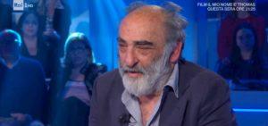 """Domenica In, Alessandro Haber a Paolo Fox: """"Oroscopo? Tu menti, sapendo di farlo"""""""