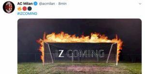 Ibrahimovic è tornato al Milan, è ufficiale. Video con i suoi gol rossoneri
