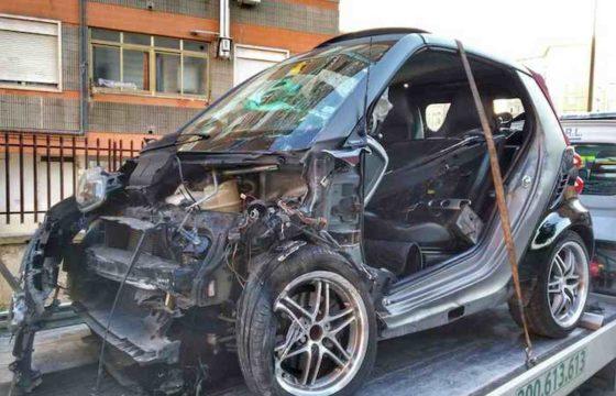 Bari, schianto frontale all'alba: 4 feriti. Alla guida un 17enne senza patente 01