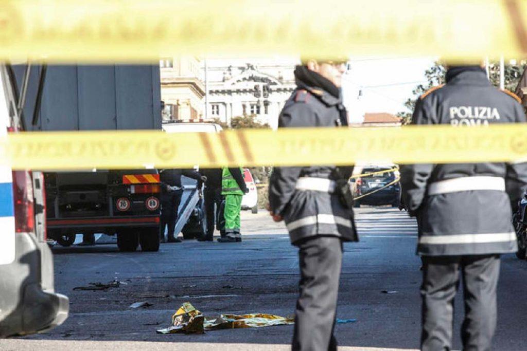 incidente roma 31 dicembre un morto