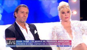 """Rossano Rubicondi e Ivana Trump, figli """"avidi idioti"""" a Live Non è la D'Urso"""