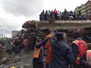 Kenya, crolla palazzo di sei piani a Nairobi: si teme ci siano persone intrappolate sotto le macerie