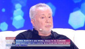 Lele Mora a Wanna Marchi a Live Non è la D'Urso: Cerchiamo di essere buoni