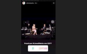 Diletta Leotta e il suo debole per Cristiano Ronaldo, dalle storie Instagram all'intervista
