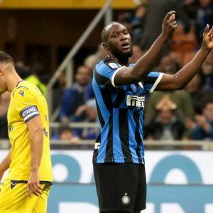 Inter-Roma, Lukaku a rischio per un attacco influenzale