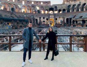 Gianluca Mancini ha sposato la sua Elisa a Firenze