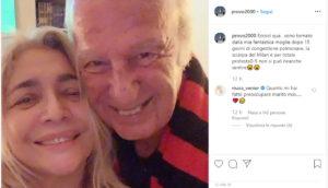 Mara Venier triste a Domenica In: marito Nicola Carraro sta male