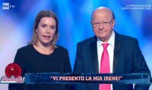 Massimo Boldi e Irene Fornaciari insieme a Italia Sì: prima volta in tv uno affianco all'altro