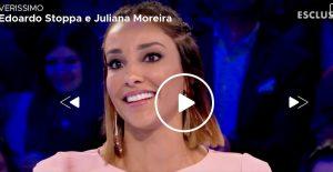 Verissimo, Juliana Moreira ed Edoardo Stoppa: primo bacio, matrimonio e gelosia...